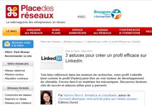 3 astuces profil LinkedIn