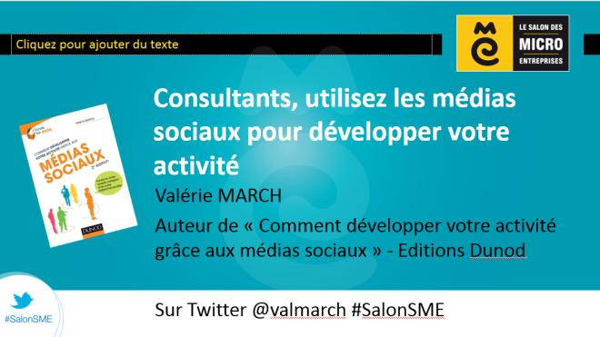 Salon SME - Valérie March